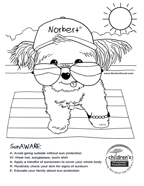 Norbert Coloring Page